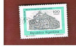 ARGENTINA - SG 1544  - 1977  BUILDINGS:   COLUMBUS THEATRE DE BUENOS AIRES   -   USED ° - Argentina