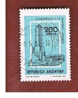 ARGENTINA - SG 1545  - 1977  BUILDINGS:  FLAG MONUMENT, ROSARIO   -   USED ° - Argentina