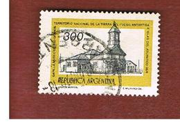 ARGENTINA - SG 1547  - 1977  CHAPEL OF RIO GRANDE    -   USED ° - Argentina