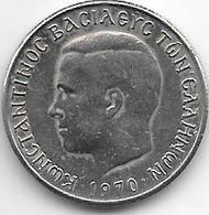 *greece 1 Drachme 1970  Km 89   Unc - Grèce
