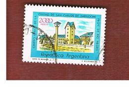ARGENTINA - SG 1554  - 1977  CIVIC CENTER, BARILOCHE    -   USED ° - Argentina