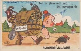 """58 .( St Honore Les Bains """". J EN AI PLEIN MON SAC .. """" ) - A Systèmes"""