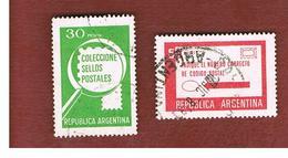 ARGENTINA - SG 1607.1608  - 1978   POSTAL PUBLICITY    -   USED ° - Argentina