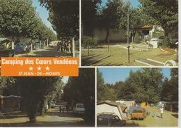 18/9/179  - ST.  JEAN - DE MONTS  (85 )  -LE  CAMPING  DES  COEURS  VENDÉENS - CPM - Saint Jean De Monts
