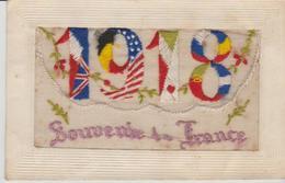 """SOUVENIR DE FRANCE """" ( 1918 ) - Brodées"""