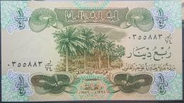 AU10 - Iraq 1979 Banlnote 1/4 Dinar - UNC - Iraq