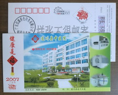 Whole Body Spiral CT,Therapeutic Apparatus,CN 07 Suichuan TCM Hospital Advertising PSC,specimen Overprint - Other