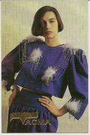 Pocket Calendar Russia  - 1992 - Girl - Fashion - Clothing - Beautiful - Advertising - Calendari