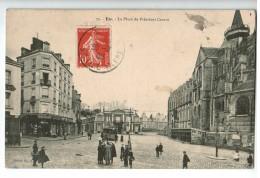 22526    CPA  EU : La Place Du Président Carnot ! 1909 ! ACHAT DIRECT !! - Eu