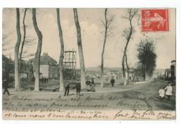 22531    CPA  EU :  La Place   ! ( Place Du Champ De Mars !  1909  !   Belle Cpa Animée ! - Eu