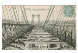 22532    CPA  ROUEN  : Curieuse Vue Prise En Haut Du Pont Transbordeur !!  1907 !  ACHAT DIRECT !! - Rouen