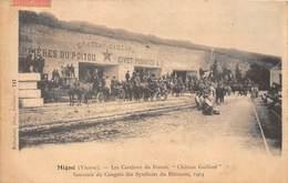 """86-MIGNE-LES CARRIERES DU POITOU-CIVET POMMIER ET Cie """" CHATEAU GAILLARD """" CONGRES DES SYNDICATS DU BÂTIMENTS 1904 - Other Municipalities"""