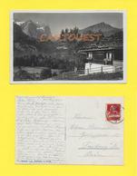 CPA Wetterhorn Hasliberg Chalet 1923 - BE Berne
