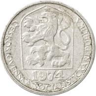 Monnaie, Tchécoslovaquie, 10 Haleru, 1974, TTB, Aluminium, KM:80 - Czechoslovakia