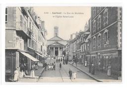 (20934-56) Lorient - La Rue Du Morbihan Et L'Eglise Saint Louis - Lorient