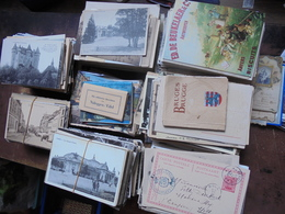 +- 2200 CARTES POSTALES-7 KILOS 500 (LIRE DESCRIPTION) - Cartes Postales