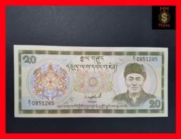 BHUTAN 20 Ngultrum  1986  P. 16 A  UNC - Bhutan