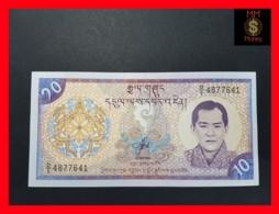 BHUTAN 10 Ngultrum 2000  P. 22  UNC - Bhoutan