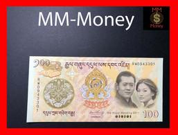 BHUTAN 100 Ngultrum 2011  P. 35 *COMMEMORATIVE*   UNC - Bhoutan
