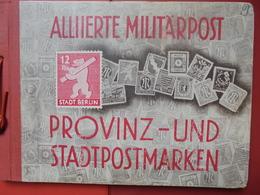 ZONES ALLIEES NEUVE* CHARNIERES EN ALBUM D'ORIGINE ! (2224) 350 Gr - Deutschland