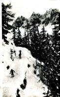 N°64701 -cpa Chamonix -téléphérique De Plan Praz- Piste De Ski Du Pylone 2 - Chamonix-Mont-Blanc