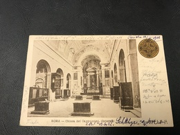 11 - ROMA Chiesa Dei Cappuccini (Interno) 1900 Timbrée - Eglises