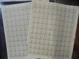 DEUTSCHES REICH-WEIMAR-3eme REICH . SUPERBE COLLECTION FEUILLES COMPLETES !(2225) 2 KILOS 600 - Sammlungen
