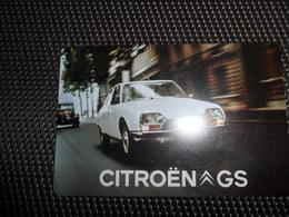 Calendrier   Kalender 1972  Citroën  Auto  Voiture - Calendriers