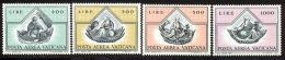 Vatican PA 1971 Yvert  55 / 58 ** TB Bord De Feuille - Poste Aérienne