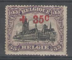 BELGIQUE:  N°157 **       - Cote 30€ - - 1918 Croix-Rouge