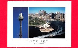 AUSTRALIA - Cartolina Viaggiata Nel 2009 - SYDNEY - Veduta Aerea - Sydney