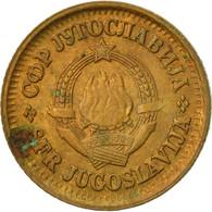 Monnaie, Yougoslavie, 5 Para, 1977, TTB, Laiton, KM:43 - Joegoslavië