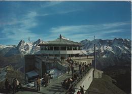 Schilthornbahn Mürren - Drehrestaurant Piz Gloria Mit Eiger, Mönch, Jungfrau - Photo: R. Krebs - BE Berne