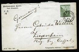 A5617) Kap Der Guten Hoffnung Brief Von Port Elisabeth 15.11.94 N. Ziegenhain / Germany - Südafrika (...-1961)