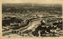LYON  Vue Sur Vaise Et La Saône, Prise De Fourvière à 376 M. D'Altitude - Lyon