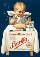 PROMOCARD N°  8810  NOVA CHARTA I MANIFESTI BARILLA - Pubblicitari