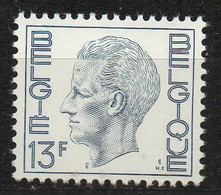 PIA - BELG - 1975 : Uso Corrente - Re Baldovino 1°  -  (Yv  1747a) - Belgio
