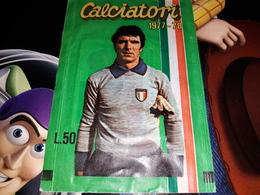 Calciatori 1977.78 Bustina Chiusa Con Figurine DINO ZOFF - Stickers