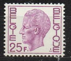 PIA - BELG - 1975 : Uso Corrente - Re Baldovino 1°  -  (Yv  1749a) - Belgio