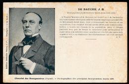 BOURGMESTRE DE MOLENBEEK SAINT JEAN - DE BAUCHE J.B  1861 - 1863 - Molenbeek-St-Jean - St-Jans-Molenbeek