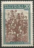 Argentina - 1946 Cotton 20p MNH **     Sc 540 - Argentina