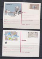 Europa Cept 1983 + 1986 Germany Postal Stationery Unused (40450) - 1983