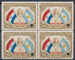 Stamps Paraguay 1939 Specimen MNH Lot12 - Paraguay