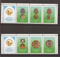 Uzbekistan 2001 - MNH - Medals - Uzbekistan