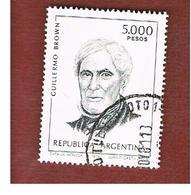 ARGENTINA - SG 1667  - 1980 GUGLIELMO BROWN     -   USED ° - Argentina