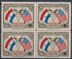 Stamps Paraguay 1939 Specimen MNH Lot14 - Paraguay