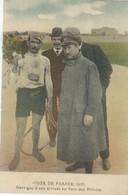 Tour De France 1910 -GARRIGOU à Son Arrivée Au Parc Des Princes. - Cyclisme