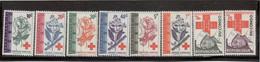 M12 - Croix Rouge - Fleurs - 495/502** De 1963.République Du Congo. - Congo - Brazzaville