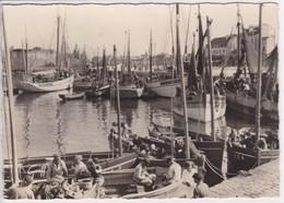 29  CONCARNEAU Le Port , Bateaux De Pèches A Quai Avec Pècheurs , Voiliers - Concarneau