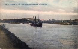 Vilvorde - Les Trois Fontaines , Le Canal Et La Correction - Vilvoorde